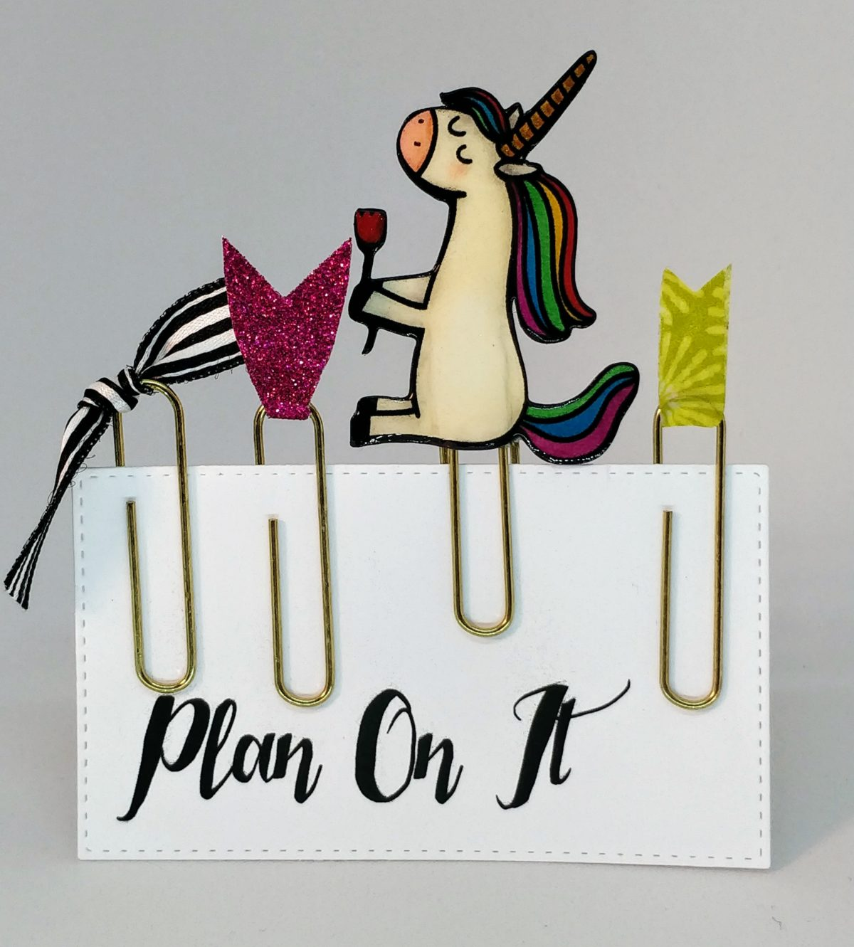 Unicorn Planner Clips
