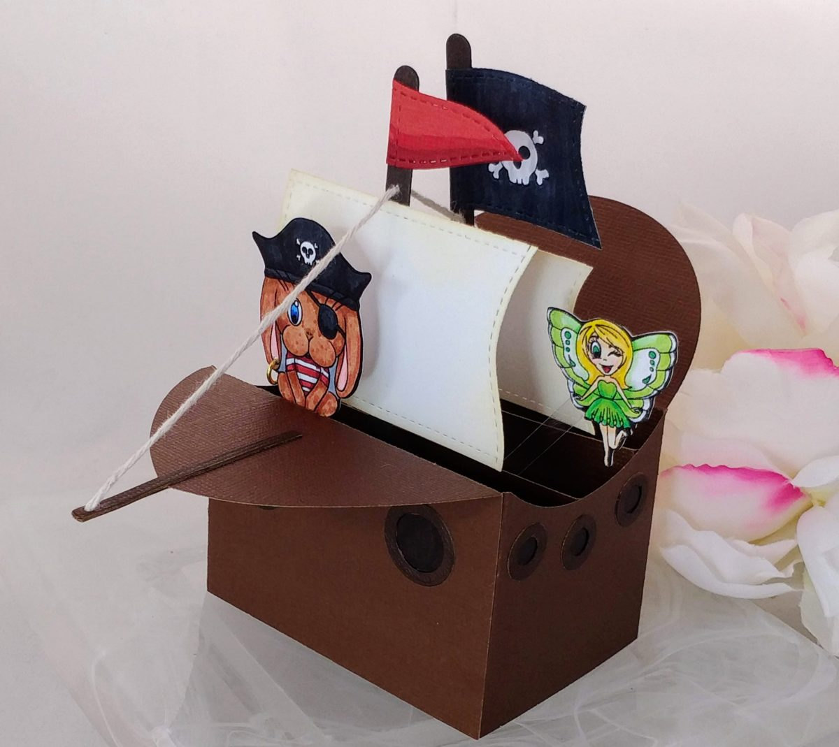 Pirate Ship Pop-Up Card