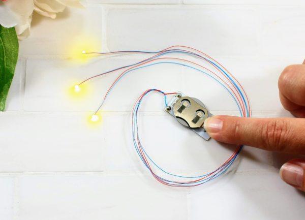 EZ-Lights make lighting up your designs a snap!