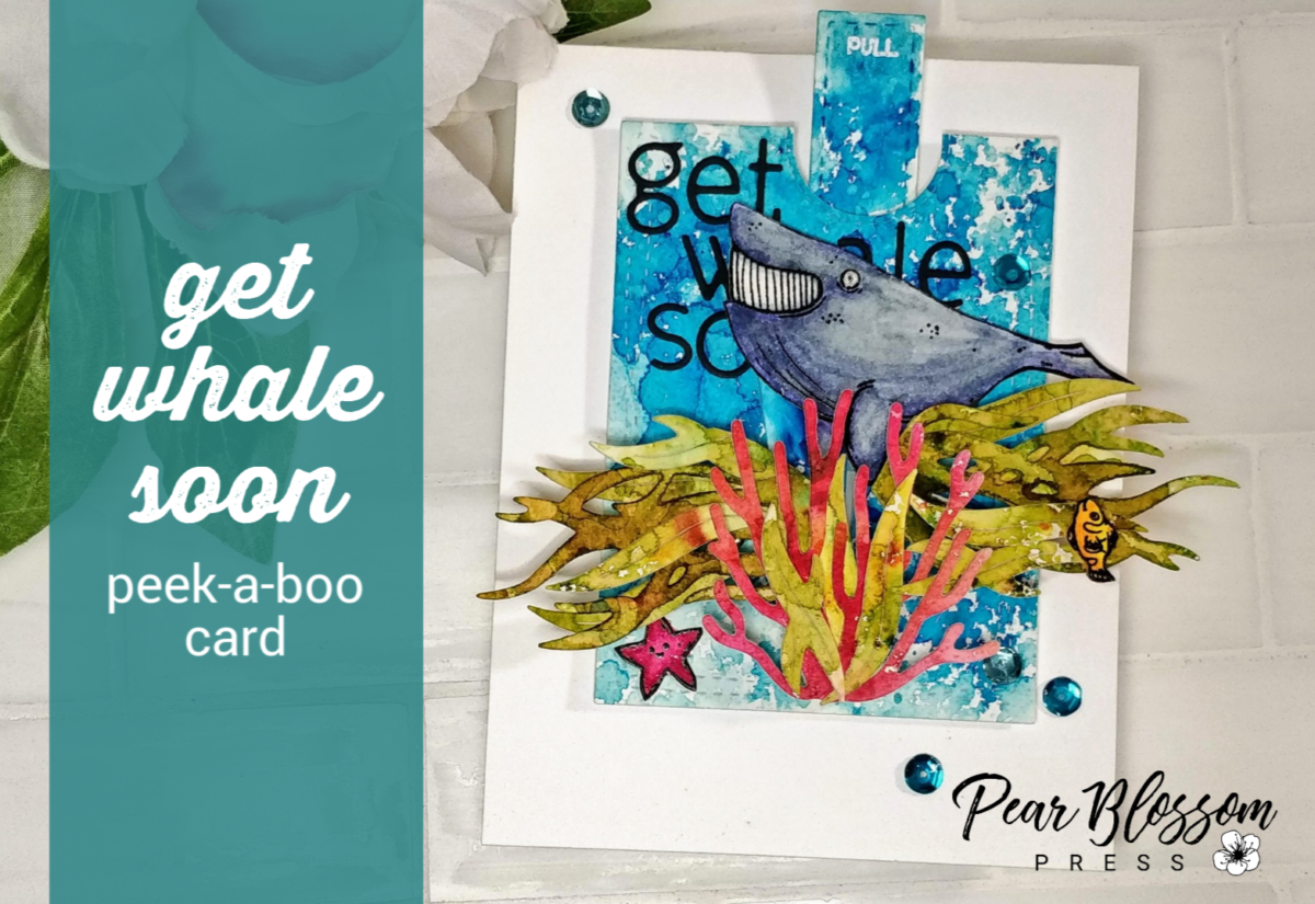 Get Whale Soon Peek-A-Boo Card