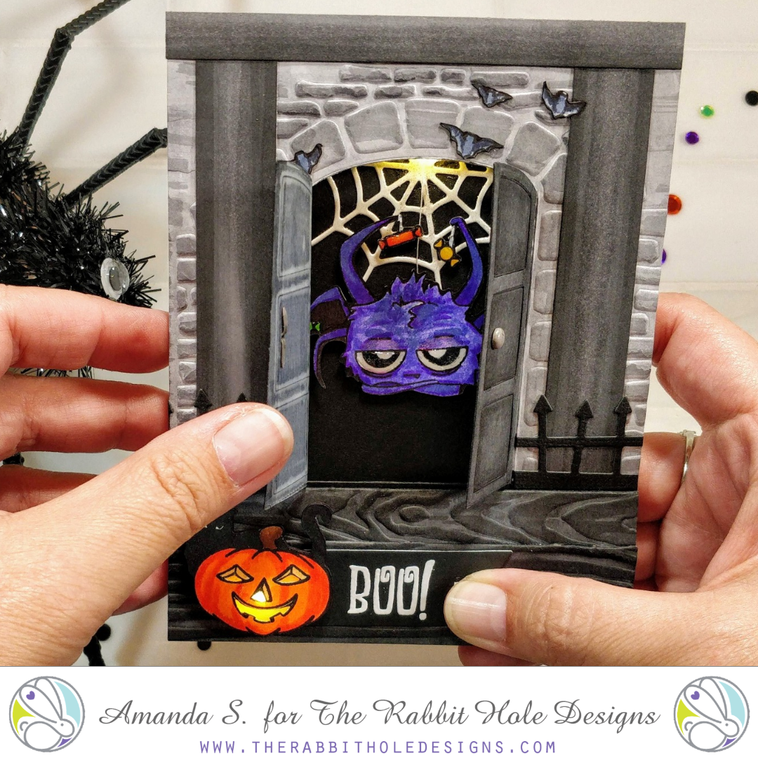 Spooky – Front Porch Card