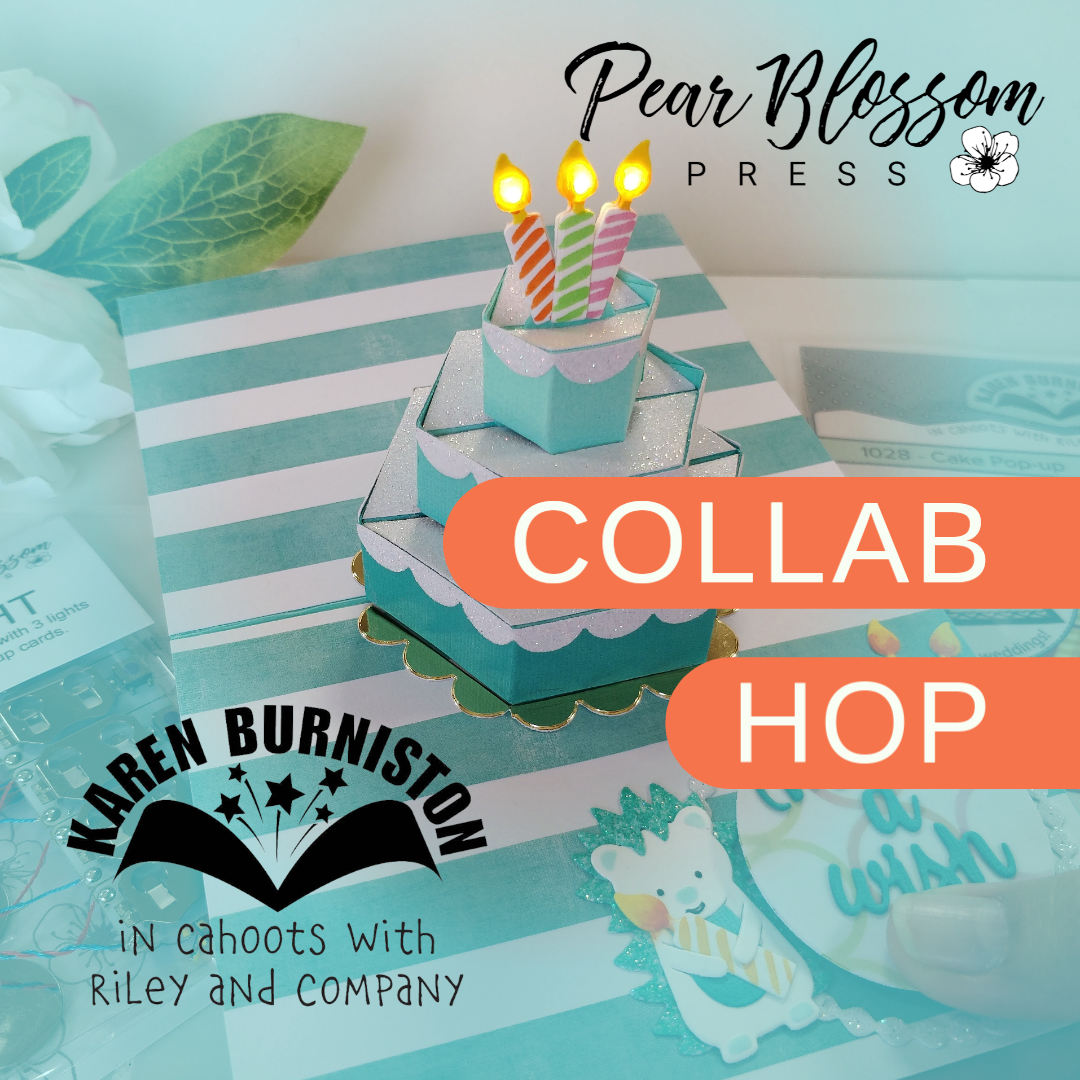 Karen Burniston and Pear Blossom Press Collab
