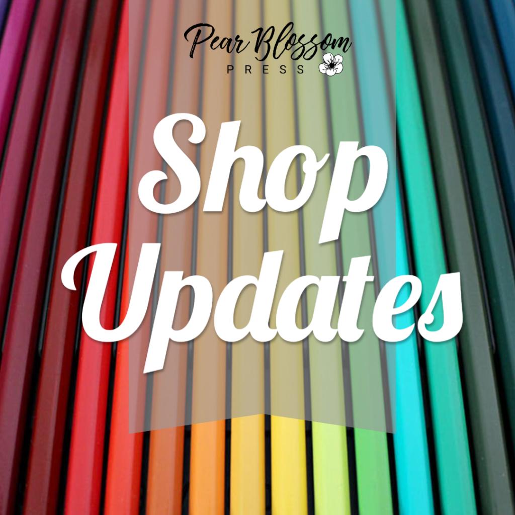 Shop Updates