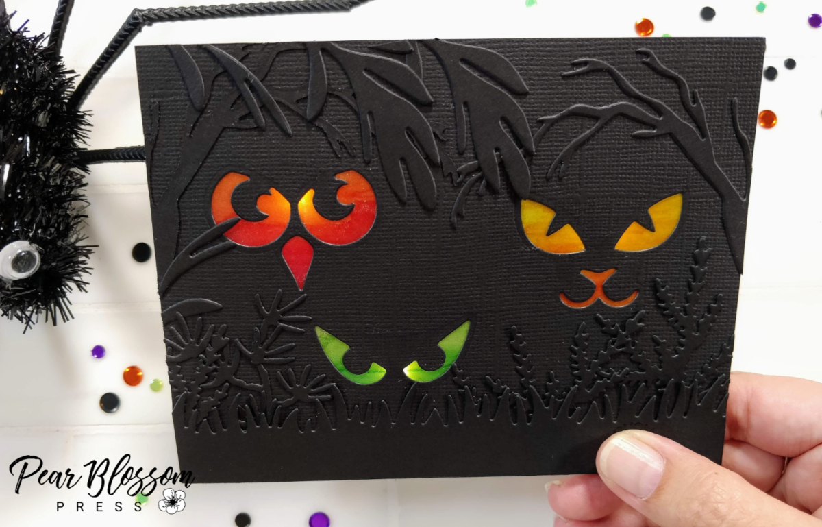 Spooky Eyes Light-Up Card – 31 Days of Halloween Spooktacular Hop