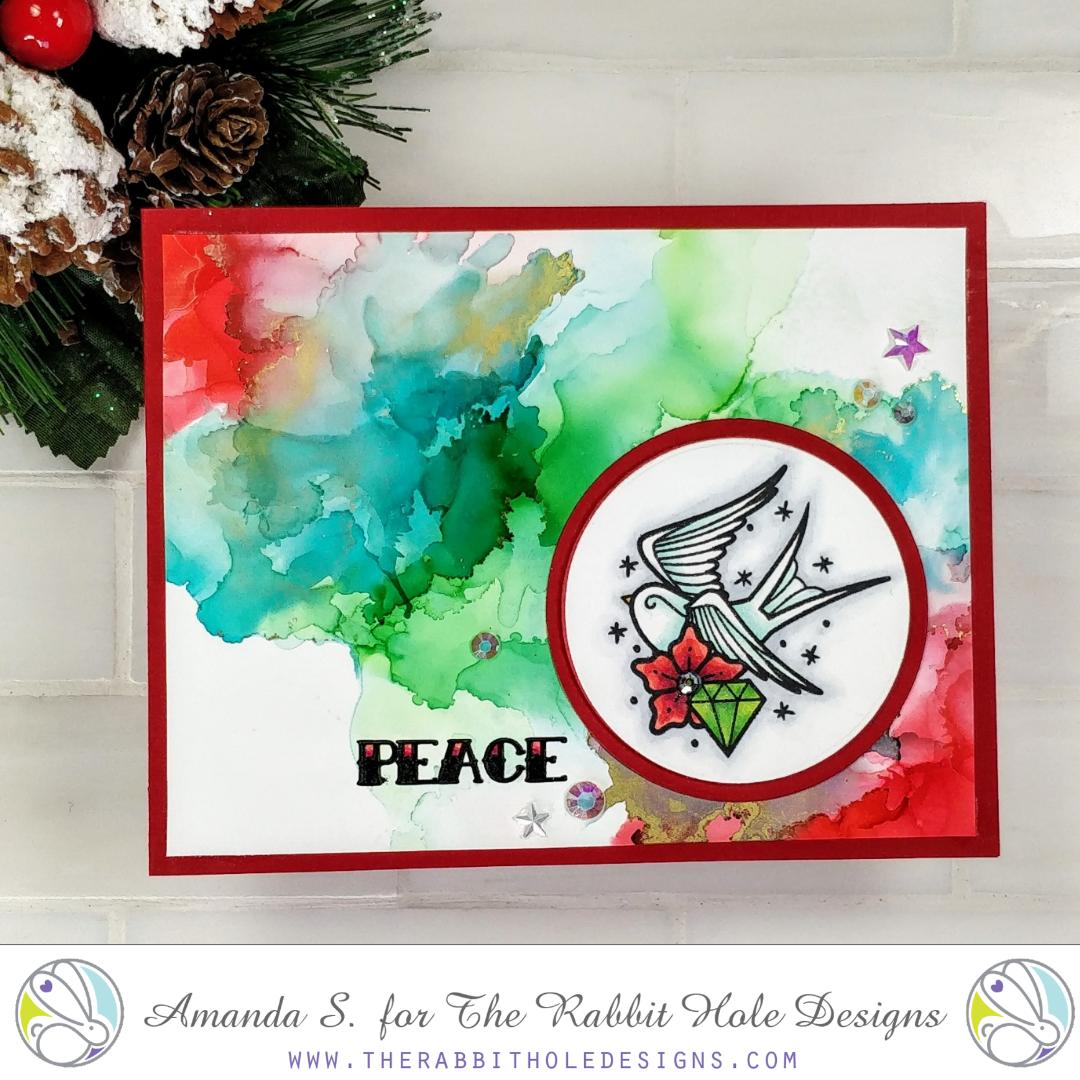 The Rabbit Hole Designs Tattoo Christmas Card