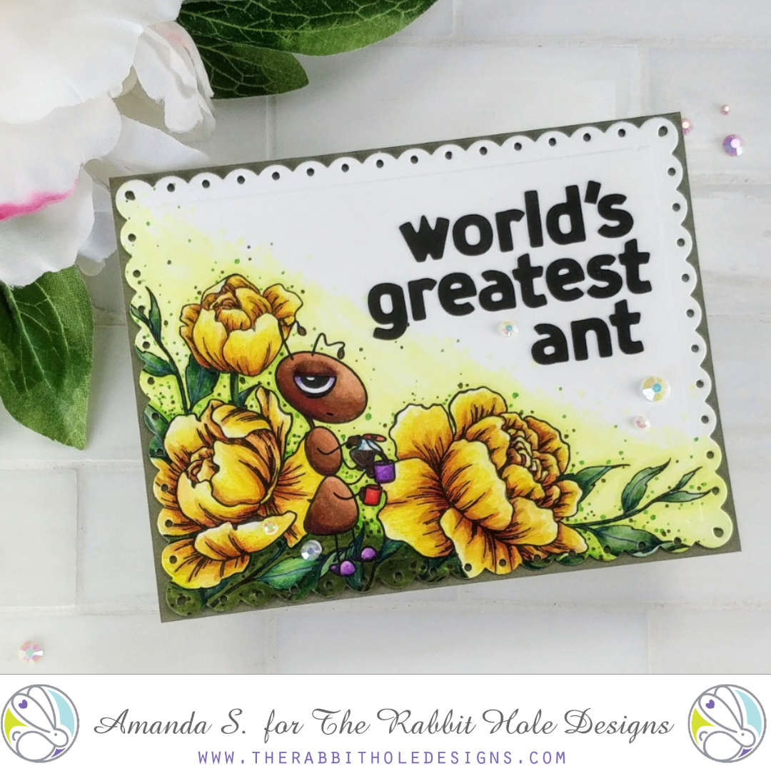 Worlds Greatest ANT The Rabbit Hole Designs