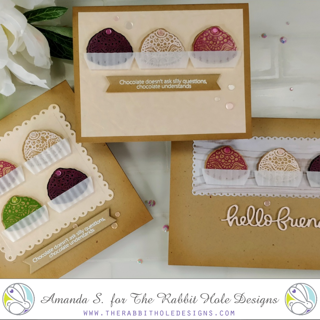 Scented Embossing Chocolate Truffles